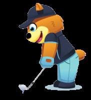 golf-bear